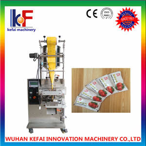Wholesale soy sauce: Ketchup Packing Machine/Tomato Paste Packing Machine/Soy Sauce Packing Machine
