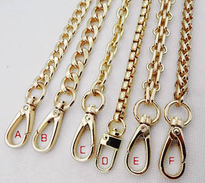 Wholesale stainless keychain: Decorative Metal Handbag Chain for Purse Chain Bag Chain