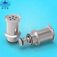 Sanitary CIP Retractable Spray Nozzle for Cleaning of Spray Dryers