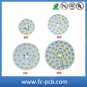 Wholesale led supplier: Electronic LED Bulb PCB Printed Circuit Board Shenzhen Supplier
