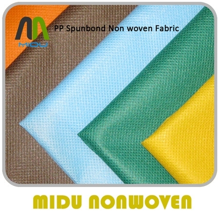 100% Polypropylene Nonwoven Fabric Manufacturers Spunbonded Non Woven Rolls