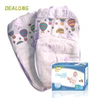 Magic Tape Baby Diaper with Breathable Back Film