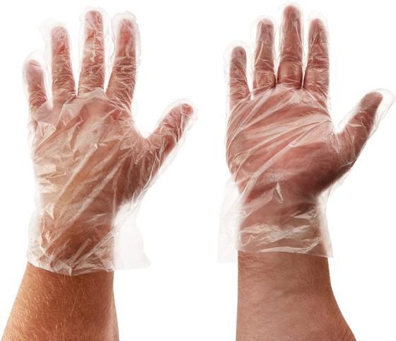 Sell Disposable Gloves Kitchen Dishwashing Crayfish Gloves Waterproof PE Gloves