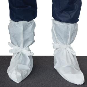 Wholesale plastics: Disposable PE/CPE/PP/Polyethylene Plastic Elastic Boot Shoe Cover /Nonwoven/ Boot Cover