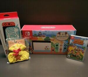 Wholesale switches: Nintendo Switch Animal Crossing Bundle New Horizons Edition FAST SHIPPING