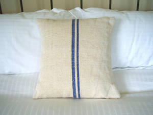 Wholesale cushion cover: French Vintage Linen Printed Cushion Cover