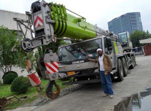 Wholesale demag crane: Kenya Used Zoomlion Crane 50t 25t 30t 20t 70t 75t 80t 90t 100t  150t Mobile Crane Truck Crane Sale
