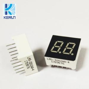 Wholesale LED Displays: Small Size 0.3inch 7segment White LED Digital Dislay 16pins 2digits