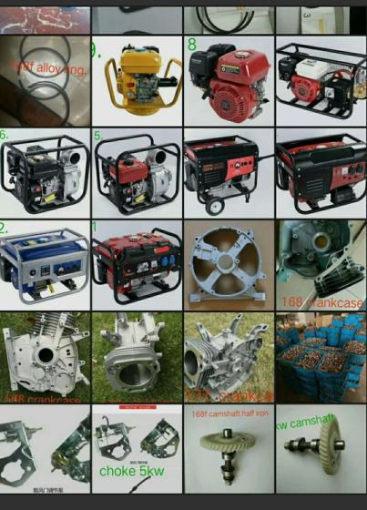 Sell ET950 gasoline generator spare parts