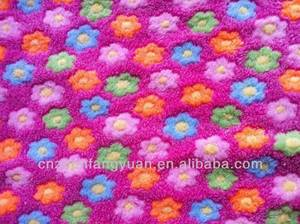 Wholesale 100% polyester: 100% Polyester Coral Fleece