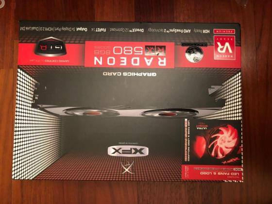 Sell XFX AMD Radeon RX 580 8GB GDDR5 PCI Express 3.0 Graphics Card