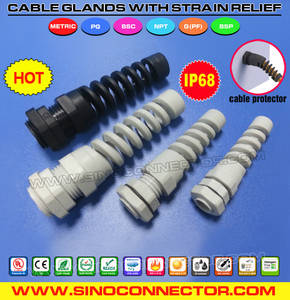 Wholesale nylon cable gland: Polyamide Nylon Cable Gland with Bending Protection