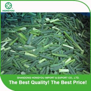 Wholesale frozen onion dices: IQF Diced Spring Onions Frozen Shallot Chive Cuts