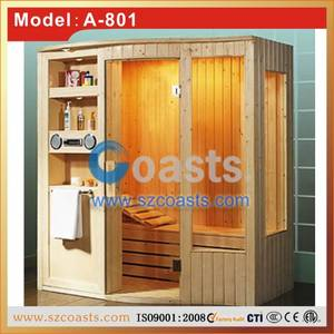 Wholesale sauna shower room: Traditional Wooden Infrared Sauna Room /Factory Price Sauna Shower Room