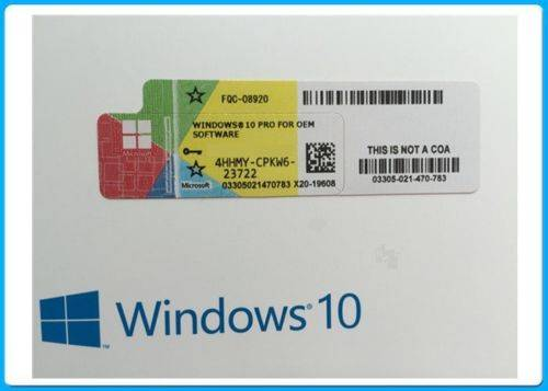 Sell LICENZA WINDOWS 10 PROFESSIONAL 32-64BIT LABEL STICKER COA ATTIVAZIONE