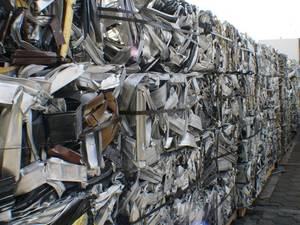 Wholesale scrap metal pressing machine: Aluminum 6063 Scrap