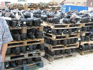 Wholesale compressor: Fridge and AC Compressor / AC and Fridge Compressor Scraps / AC/Fridge Compressor Scraps