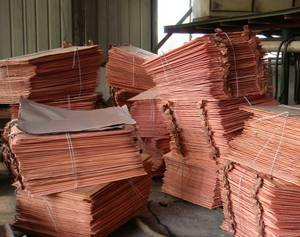 Wholesale copper cathode: Copper Cathode Grade A (Electrolytic Copper Grade)