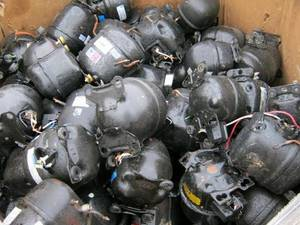 Wholesale compressor: Fridge AC Compressor Scraps / Fridge AC Compressor