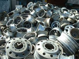 Wholesale auto detailing: Clean Aluminum Wheel Scrap