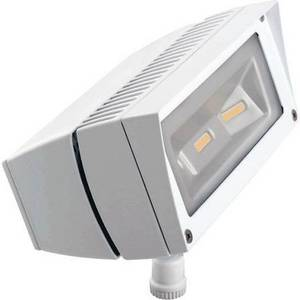 Wholesale w: RAB FFLED18DCW 18W Solar LED Floodlight, 5000K (Cool), 1681 Lumens, 69 CRI, White Finish