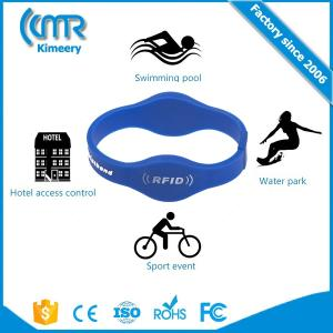 Wholesale EAS System: Dual Frequency Rfid Silicone Wristband