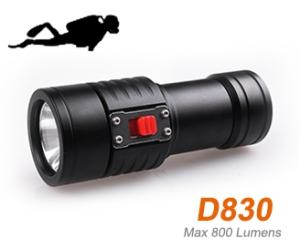 Wholesale Flashlights & Torches: OrcaTorch D830 Dive Flashlight