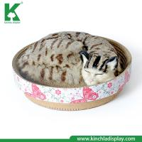 Kinchla Premium Quality Hot Sell Corrugated Cardboad Cat Scratcher Cave Bed