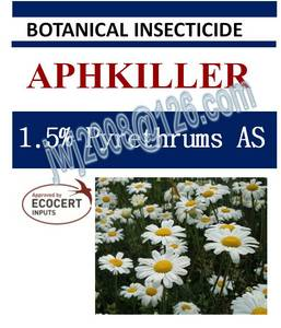 Wholesale Insecticides: 1.5% Pyrethrums AS, Botanical Insecticide