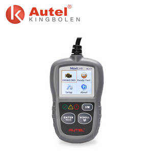 Wholesale obd2: Auto Diagnostic Code Reader Original Autel Maxilink ML319 OBD2 Code Scan Tool Update Online