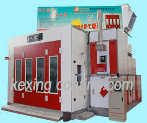 Wholesale water curtain spray booth: 2015 CE Approved KX-SP3200F Competitive Price Useful Auto Spray Paint Booth