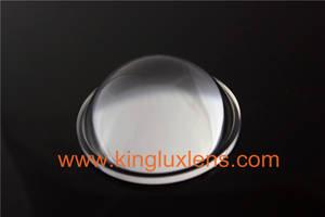 Wholesale high bay light: 30w LED Glass Lens , Anti Glare LED High Bay Light Lens for CXA3590