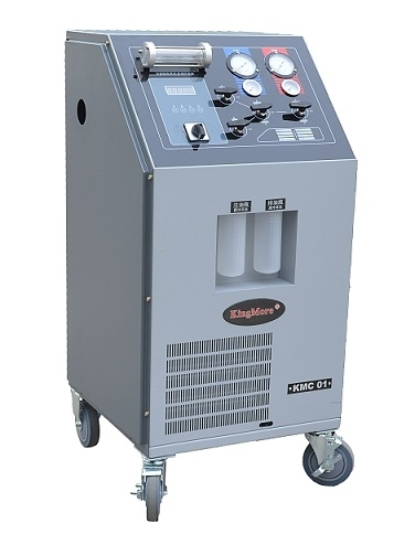 KMC01Manul Cost-effective Refrigerant Recovery Machine AC Service Station