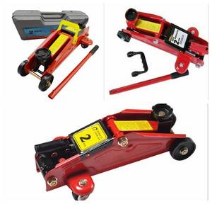 Wholesale car tool: Portable Car Repair Tool Kit Lifting 360 Deg Rotational Floor Jack