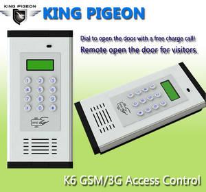 Wholesale intercom: GSM 3G Access Control & Apartment Intercom K6