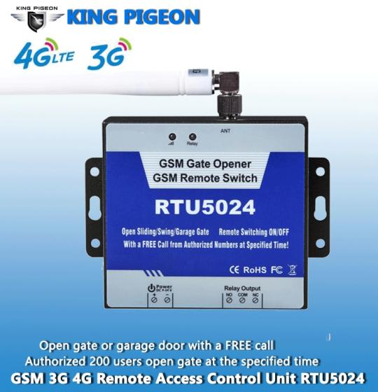Sell GSM 3G 4G Gate Opener 1 Relay, dial to open the gate