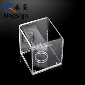Wholesale acrylic box: China Factory Custom Acrylic Jewelry Display Stand Box