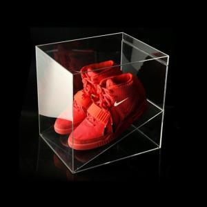 Wholesale wholesale shoes: Factory Wholesale Plexiglass Clear Acrylic Nike Shoe Box