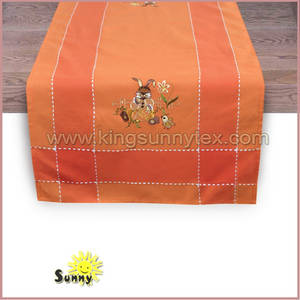Wholesale Home Textile: Easter Embroidery of Easter Table Cover in 2018