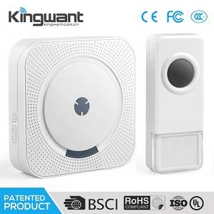 Wholesale 433mhz learning code transmitter: 2017 New Arrival Solar Power Wireless Doorbell Push Button