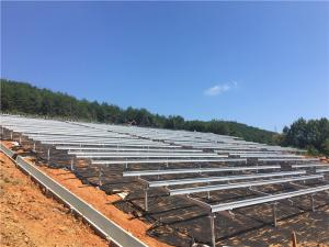 Wholesale solar panel: Solar Ground Mounting Systems / Fixed Solar Panel Mounting Structure