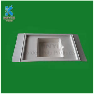 Wholesale manufacturer of pulp: Dongguan Packaging Manufacturer of Recycled Paper Pulp Molded Customized Packaging Trays