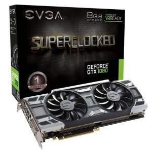 Wholesale games: EVGA GeForce GTX 1080 SC GAMING ACX 3.0, 8GB GDDR5X, LED, DX12 OSD Support (PXOC) Graphics Card 08G-