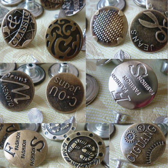 Sell Metal Jeans Buttons