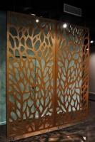 Custom Designs for Gates Laser Divider Fence Decorative Laser Cut Outdoor Gates Sheet Metal Fences