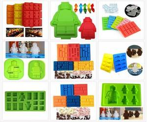 Wholesale silicone tray: Amazon Best Seller Minecraft Silicone Ice Cube Tray Molds, Brick and Figure Silicone Ice Tray