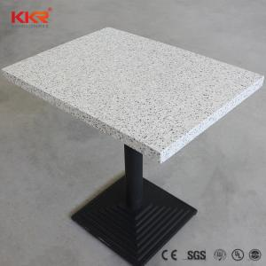 Wholesale dining set: Artificial Stone Acrylic Solid Surface Dining Room Dinner Table Set