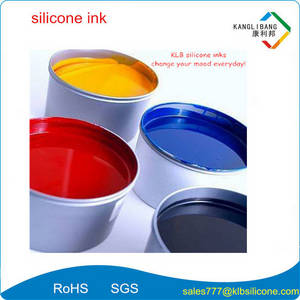 Wholesale silkscreen inks: High Performance Abrasion Resistance Silicone Printing Inks