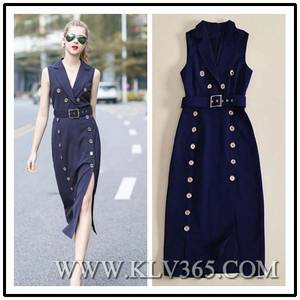 Wholesale party: New Fashion Designer Women Embroidered Party Dress