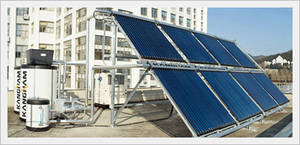 Wholesale solar heating: Heat Pump System, Hybrid Type with Solar